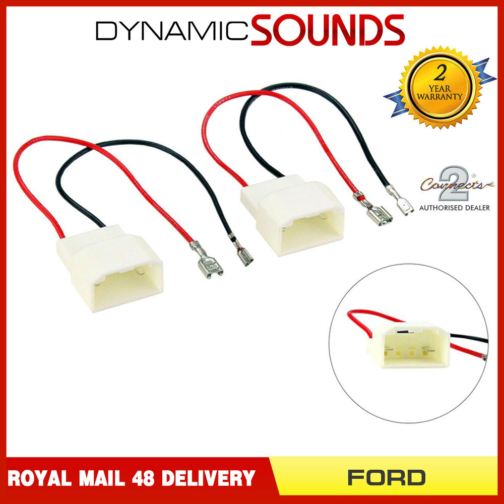 medium resolution of details about car speaker adaptor wiring harness connectors for ford fiesta c max s max