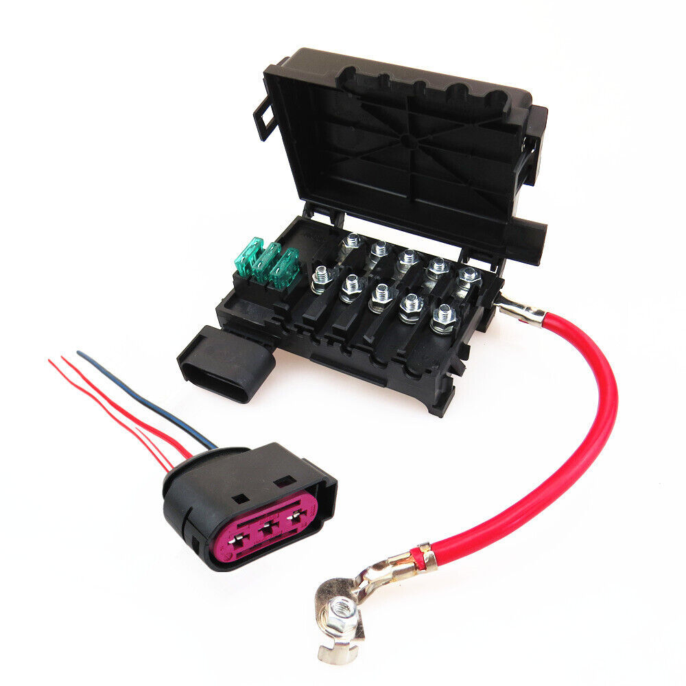 hight resolution of details about car fuse box fuse holder battery terminal for audi a3 vw beetle bora golf jetta