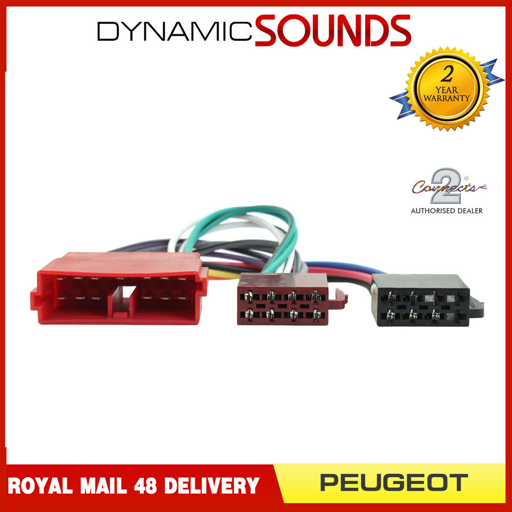 hight resolution of details about ct20ct01 car stereo wiring harness iso adaptor lead for citroen peugeot