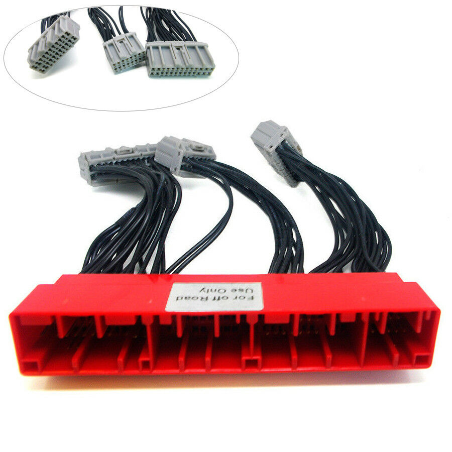 hight resolution of details about obd2a to obd1 jumper ecu conversion wire harness for honda civic accord prelude