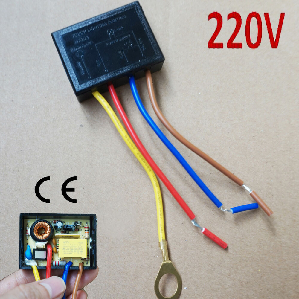 medium resolution of details about 220v touch light lamp dimmer switch control module sensor halogen tungsten led