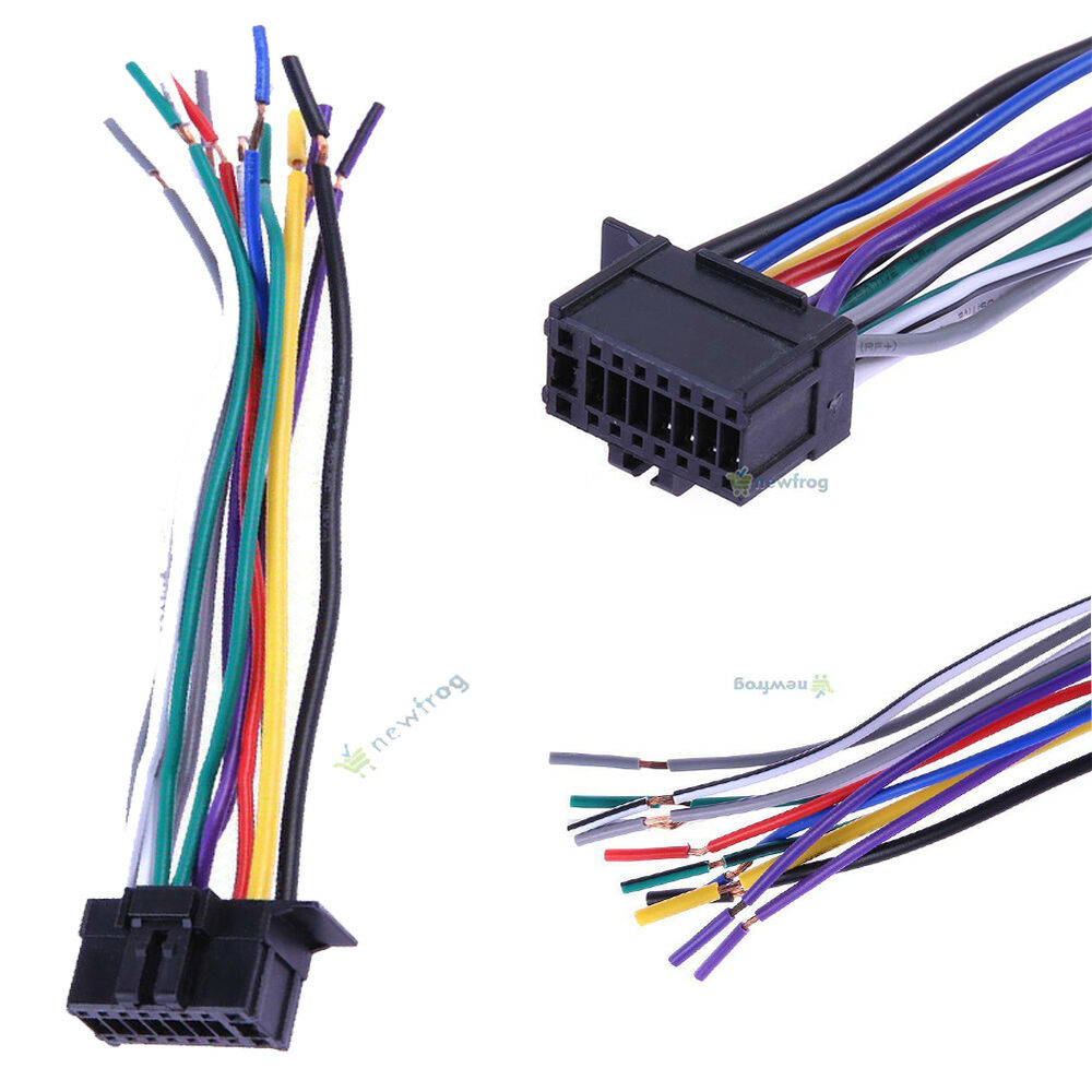hight resolution of details about car stereo cd player radio wiring harness wire adapter connector for new pioneer