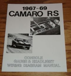 details about 1967 1968 1969 chevrolet camaro rs wiring diagram manual 67 68 69 chevy [ 1000 x 978 Pixel ]