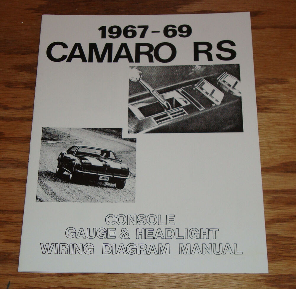 medium resolution of details about 1967 1968 1969 chevrolet camaro rs wiring diagram manual 67 68 69 chevy