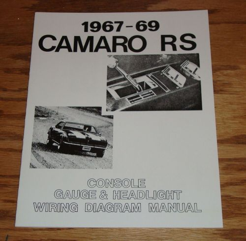 small resolution of details about 1967 1968 1969 chevrolet camaro rs wiring diagram manual 67 68 69 chevy