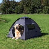 NEW Dog Tent Dogs Canvas Kennel Outdoor Pet Tents Bed | eBay
