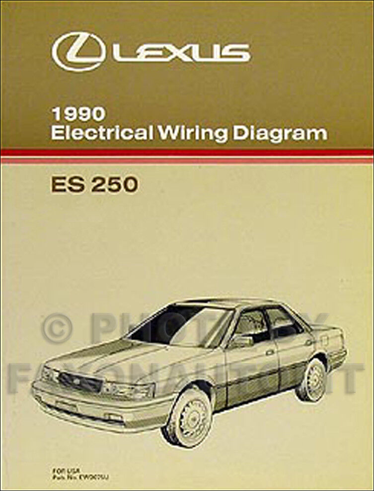 2008 Lexus Sc430 Sc 430 Factory Original Electrical Wiring Diagram