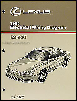1995 Lexus ES 300 Wiring Diagram Manual Electrical
