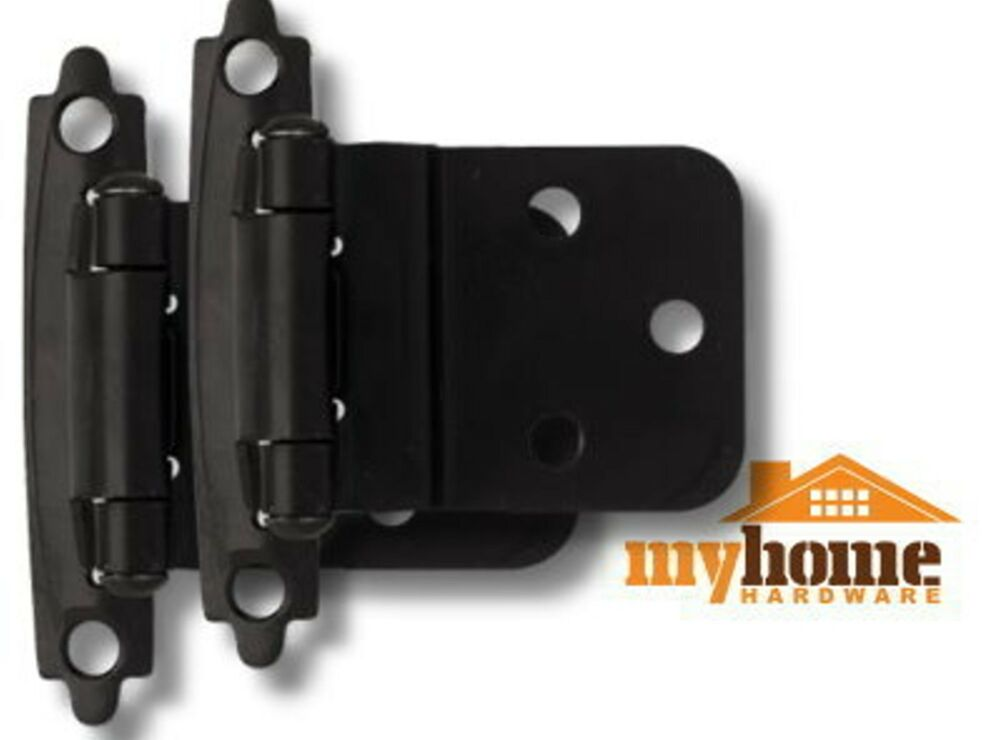 Cabinet Door Inset Hinges Matte Black (1 Pair) Hinge
