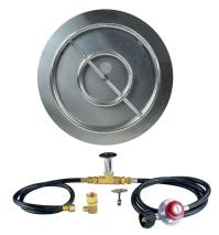 "18"" 24"" 28"" 30"" Stainless Steel Burner Pan/Burner Ring"