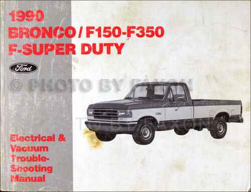 1983 ford f100 wiring diagram for dual batteries 1990 pickup electrical troubleshooting manual bronco f150 f250 f350 truck | ebay