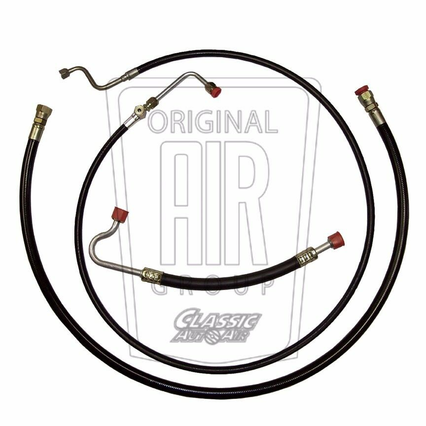 67-68 MUSTANG COUGAR 390/428 A/C HOSE SET Air Conditioning