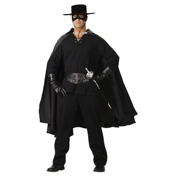 Bandido Costume Adult Zorro Mexican Cowboy Deluxe