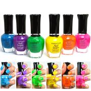 kleancolor nail polish neon colors