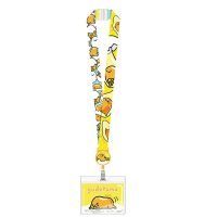 Betty Boop Flirt Kiss Lanyard Key Chain ID Holder Black
