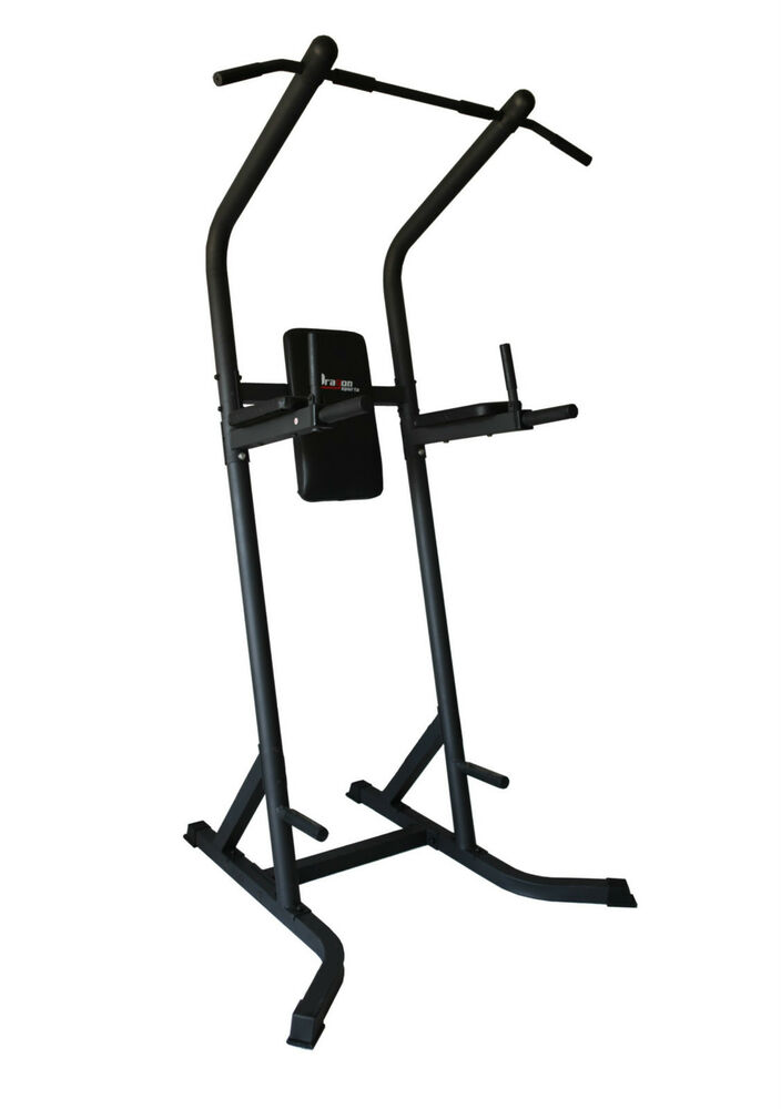 Power Tower Chinning Press/Push Pull Up Dip Station VKR
