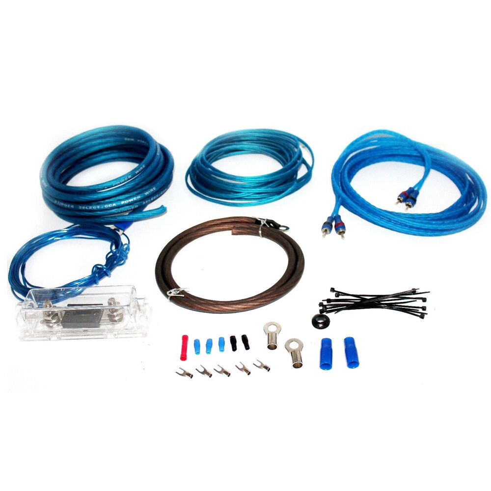 Copperclad Aluminum Amplifier Wiring Kit 4 Gauge Walmartcom