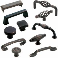 Amerock Deals - Oil Rubbed Bronze Cabinet Hardware - Knobs ...