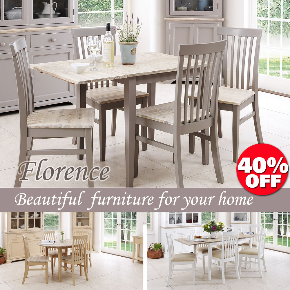 FLORENCEStunning rectangle extended kitchen dining table