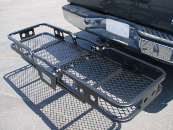 Folding Cargo Carrier Luggage Basket 2quot Receiver Hitch