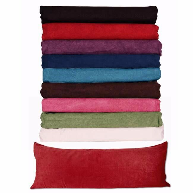 Body Pillow COVER Case Soft Micro Suede New 20quotx 54