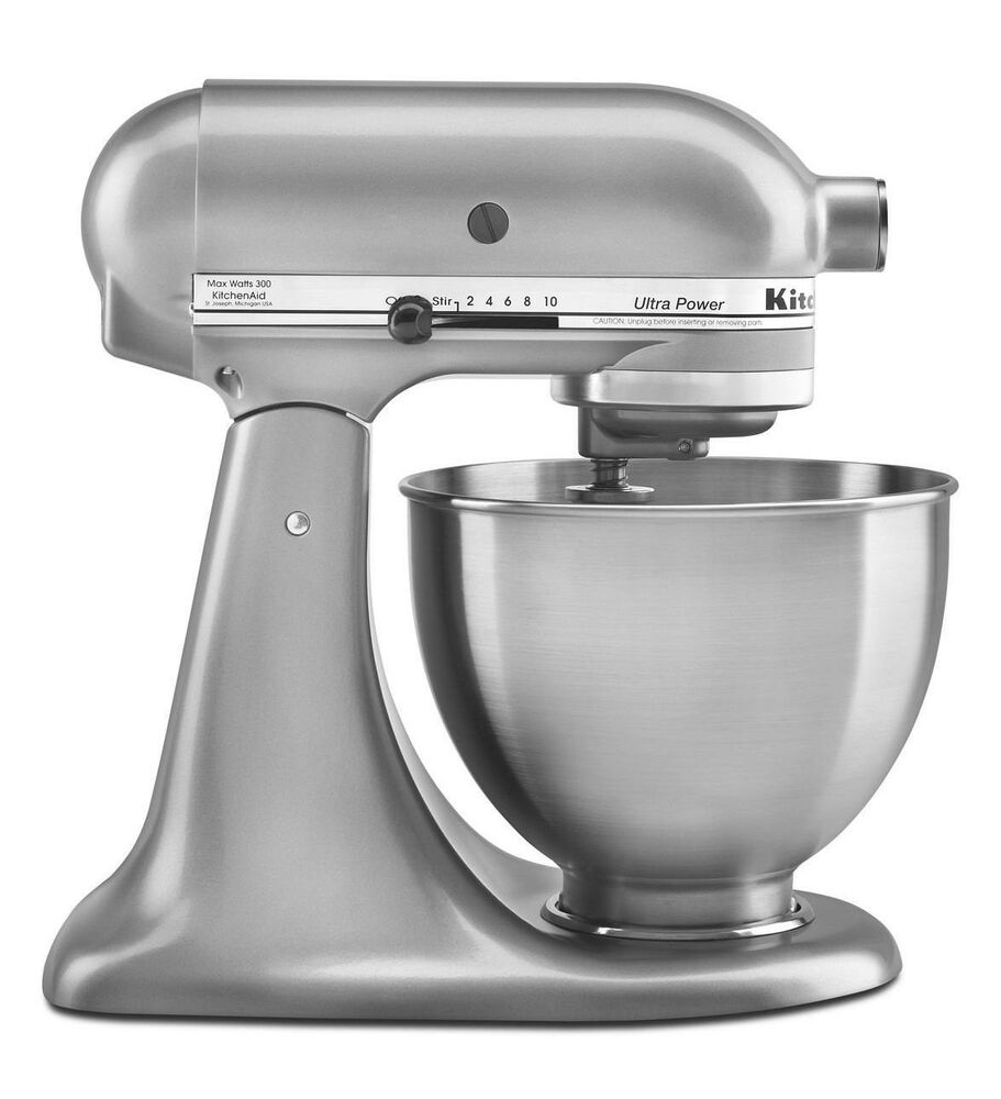 New Made USA KitchenAid Ultra Power KSM95cu 10speed Stand Mixer 45quart Silver 50946000015  eBay