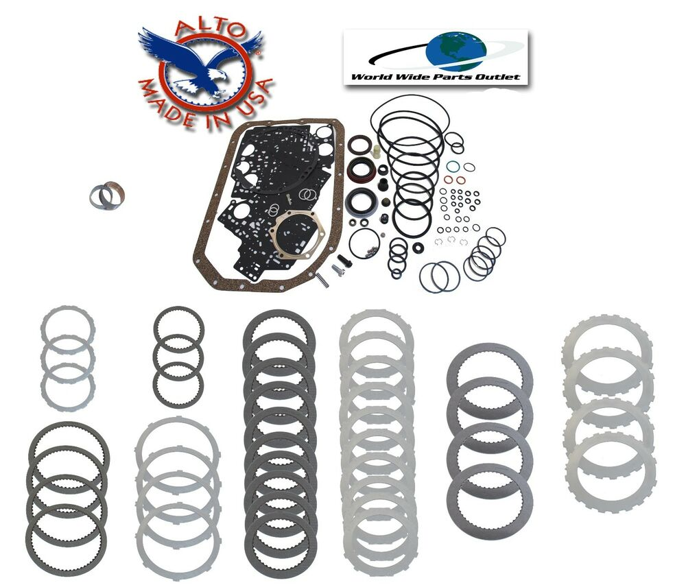 hight resolution of details about 4l80e transmission rebuild kit master heavy duty stage 1 1990 1996