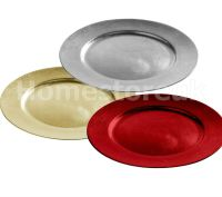 33CM ROUND FLAT STYLE CHARGER PLATE TABLE DISH UNDER PLATE ...
