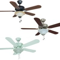 42 Inch Ceiling Fan with Light Kit - Oil Rubbed Bronze ...