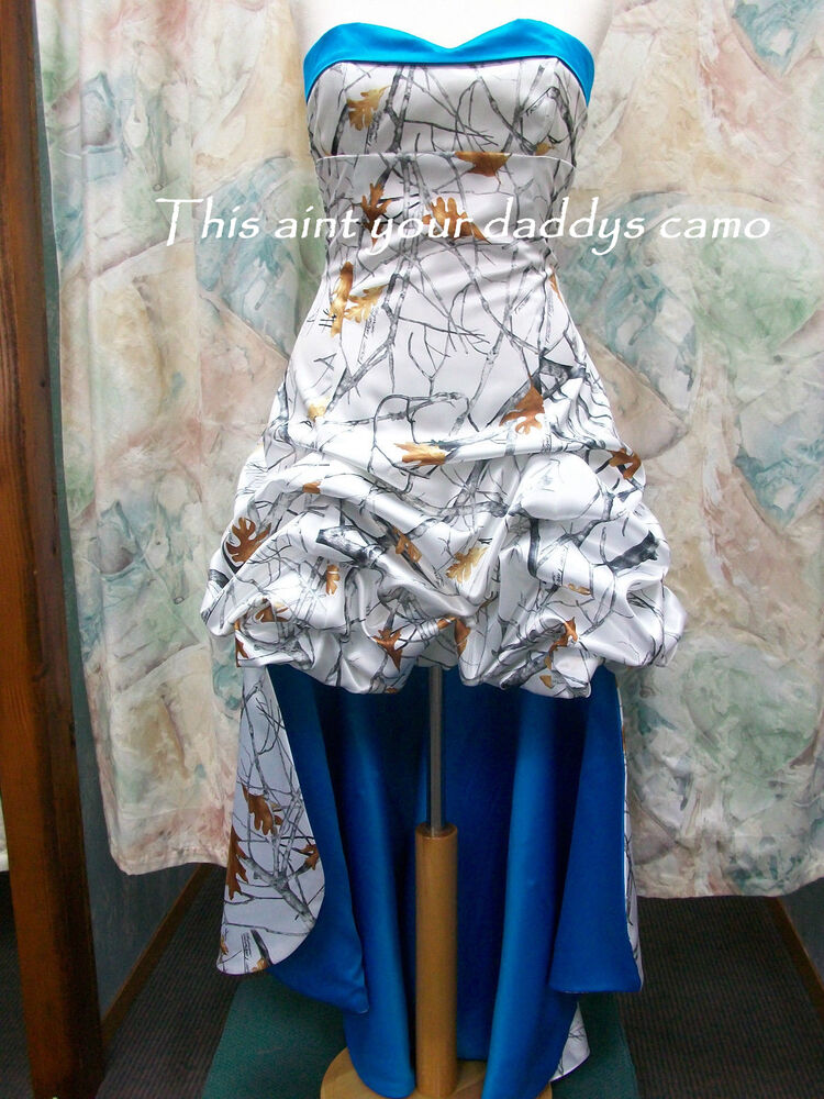 Made in USA CAMO Prom Homecoming Bridesmaids Pick Up hilo
