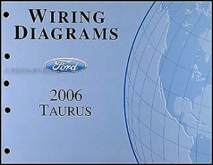 20062007 Ford Taurus Wiring Diagrams Manual Original OEM