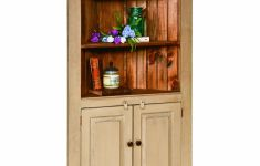 Wonderful Kitchen Corner Hutch That Abound Elegance