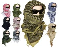 100% Cotton SHEMAGH HEADSCARF - Colour Option - Military ...