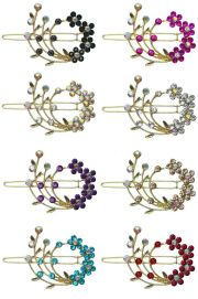 barrette with snap- clip