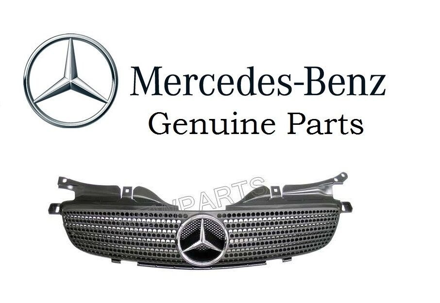 NEW Mercedes SLK230 R170 OES Front Center Grille Assembly