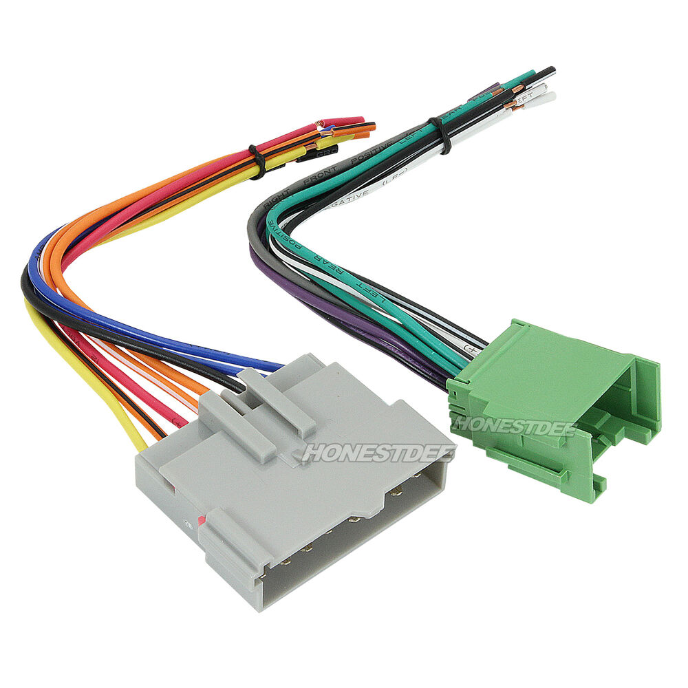 hight resolution of aftermarket car stereo radio to ford wiring wire harness kenwood wiring harness colors jvc car stereo