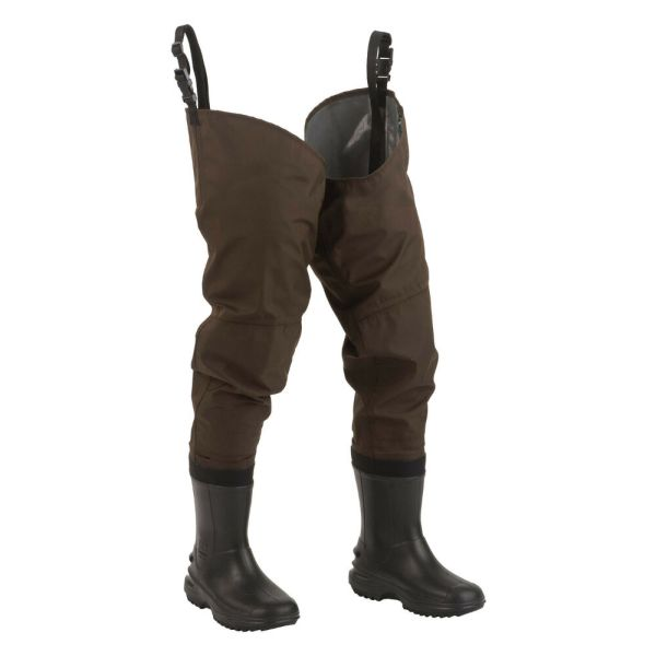 Hodgman Redstone Waterproof Breathable Cleated Boot Hip Waders Size 7
