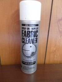 Fabric Cleaner spray. Deep cleaning foaming fabric cleaner ...