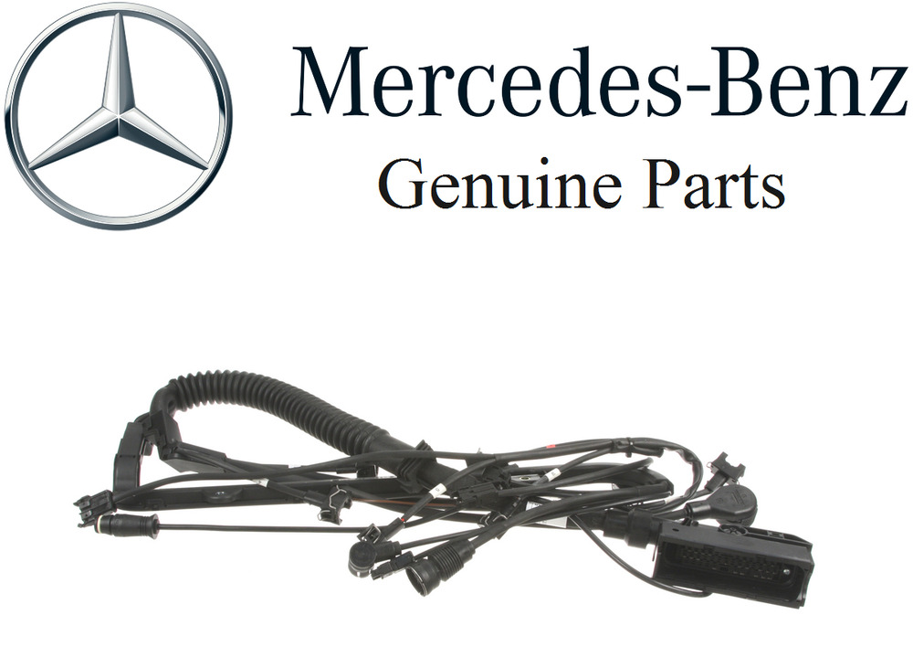 1993 Mercedesbenz 400sel Engine Wiring Harness Genuine
