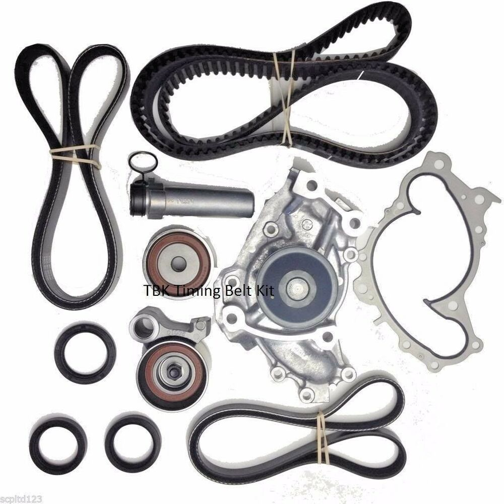 OEM COMPLETE TIMING BELT SEALS WATER PUMP KIT FOR TOYOTA