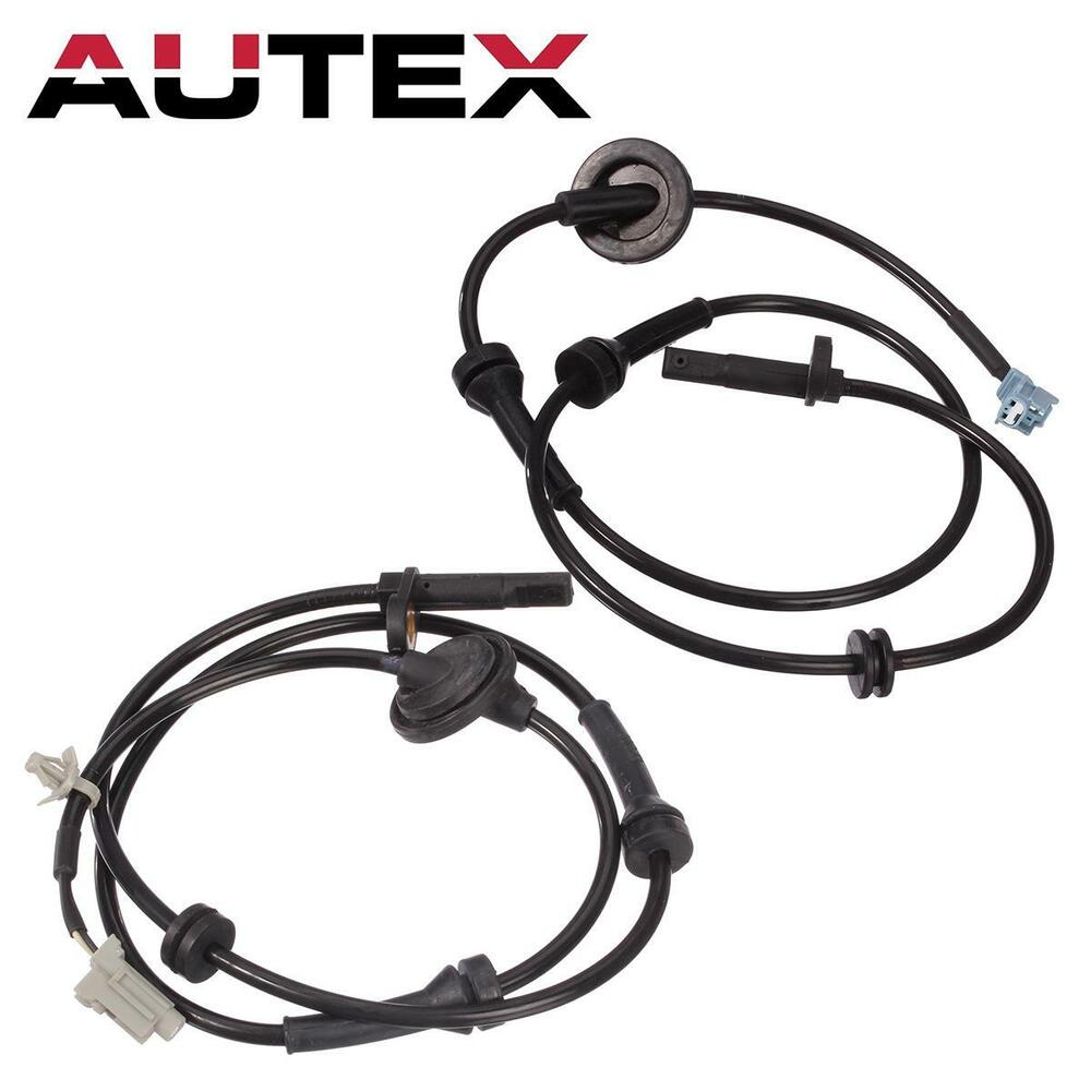 2pcs Front Left + Right ABS Wheel Speed Sensor For 2003