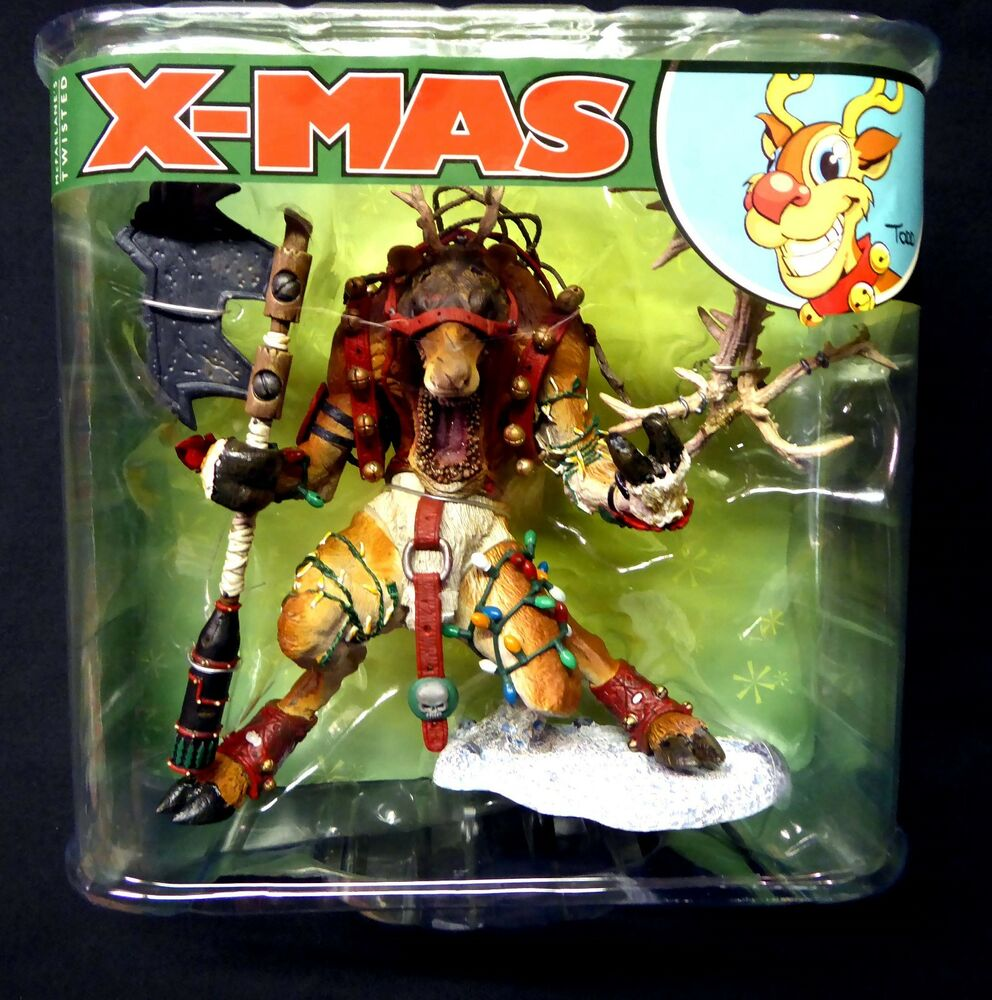 Twisted Christmas Rudy Action Figure 2007 McFarlane Toys