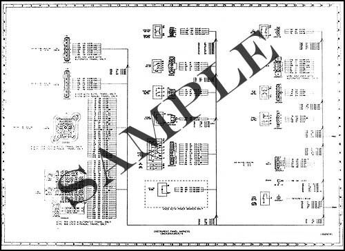1987 Chevy GMC C5-C7 Wiring Diagram C50 C60 C70 C5000