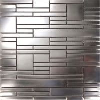 Sample Matte Industrial Stainless Steel Pattern Mosaic ...
