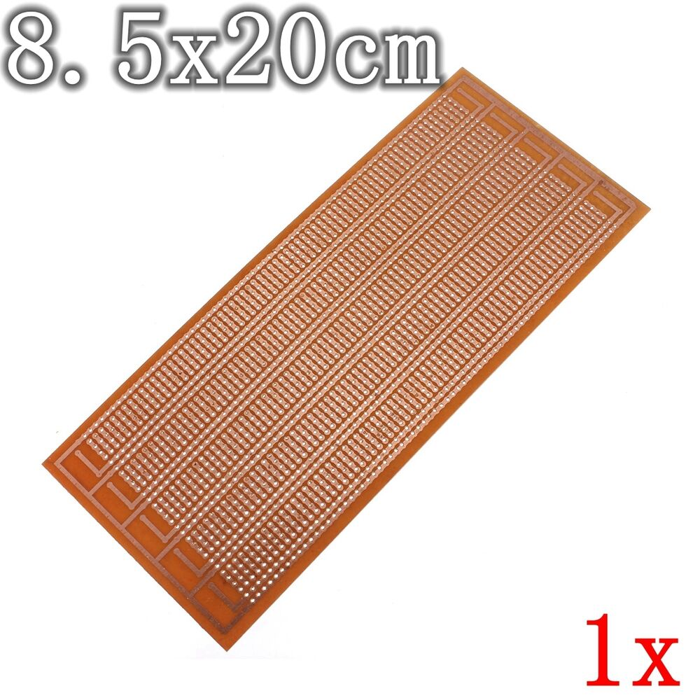 Kit Prototyping Pcb Printed Circuit Board Panel Strip Board Breadboard