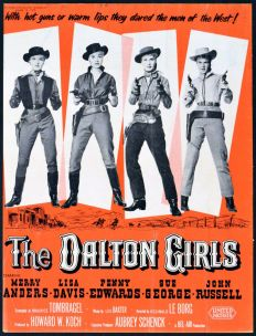 Image result for merry anders in the dalton girls 1957