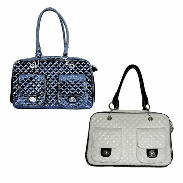 High Quality Pet Dog Carrier Tote Bag Fashion Leather