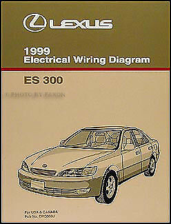 1999 Lexus ES 300 Wiring Diagram Manual Original ES300 Electrical Schematic Book | eBay