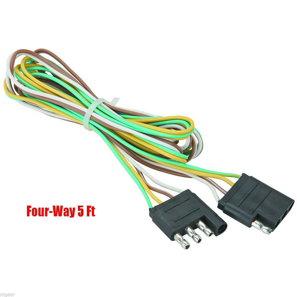 Wire Trailer Wiring Harness Also 4 Way Boat Trailer Wiring Harness