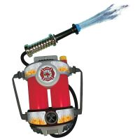 Fire Hose Squirt Gun & Backpack Kids Fireman Toy
